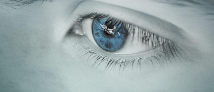 Plavim očima