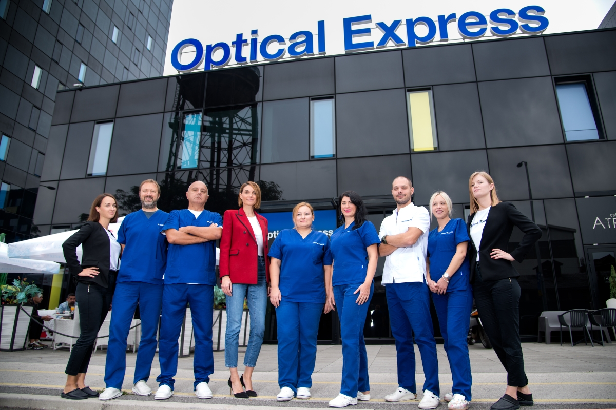 korekcija vida u Optical Expressu