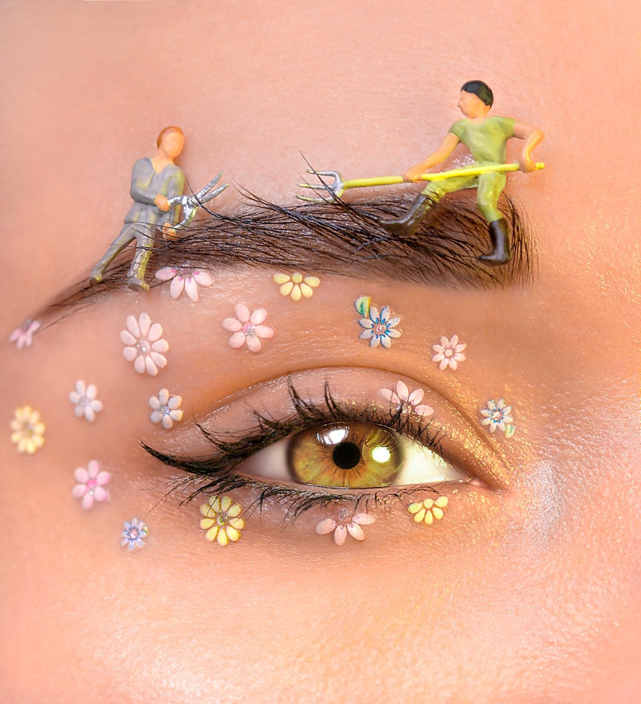 suha koža oko očiju