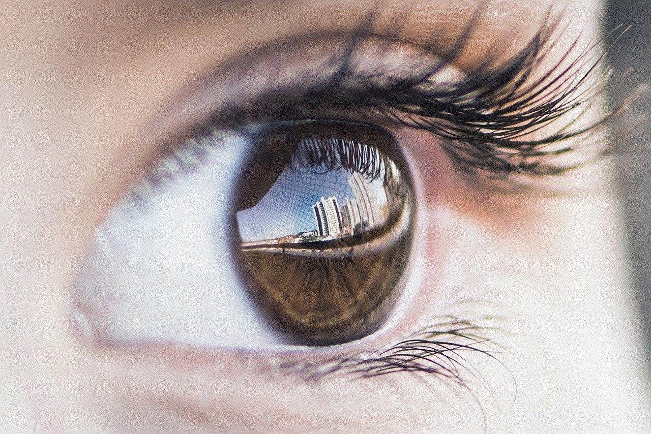 žarenje očiju