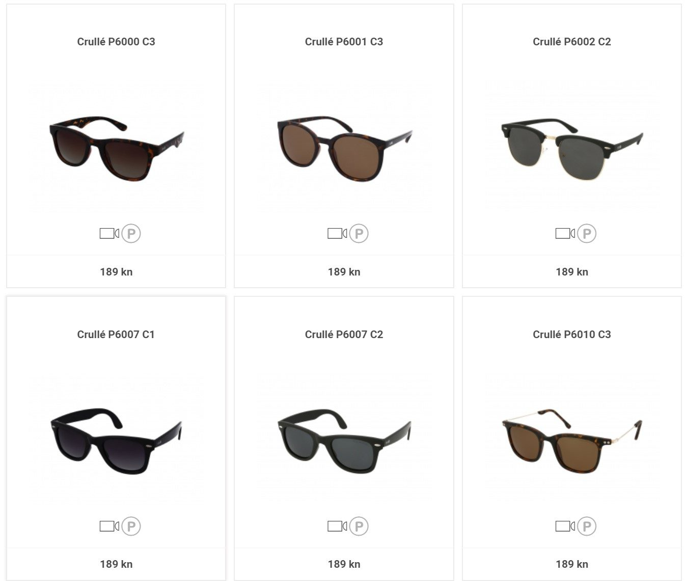 Adrialeće.hr - Crulle sunčane naočale