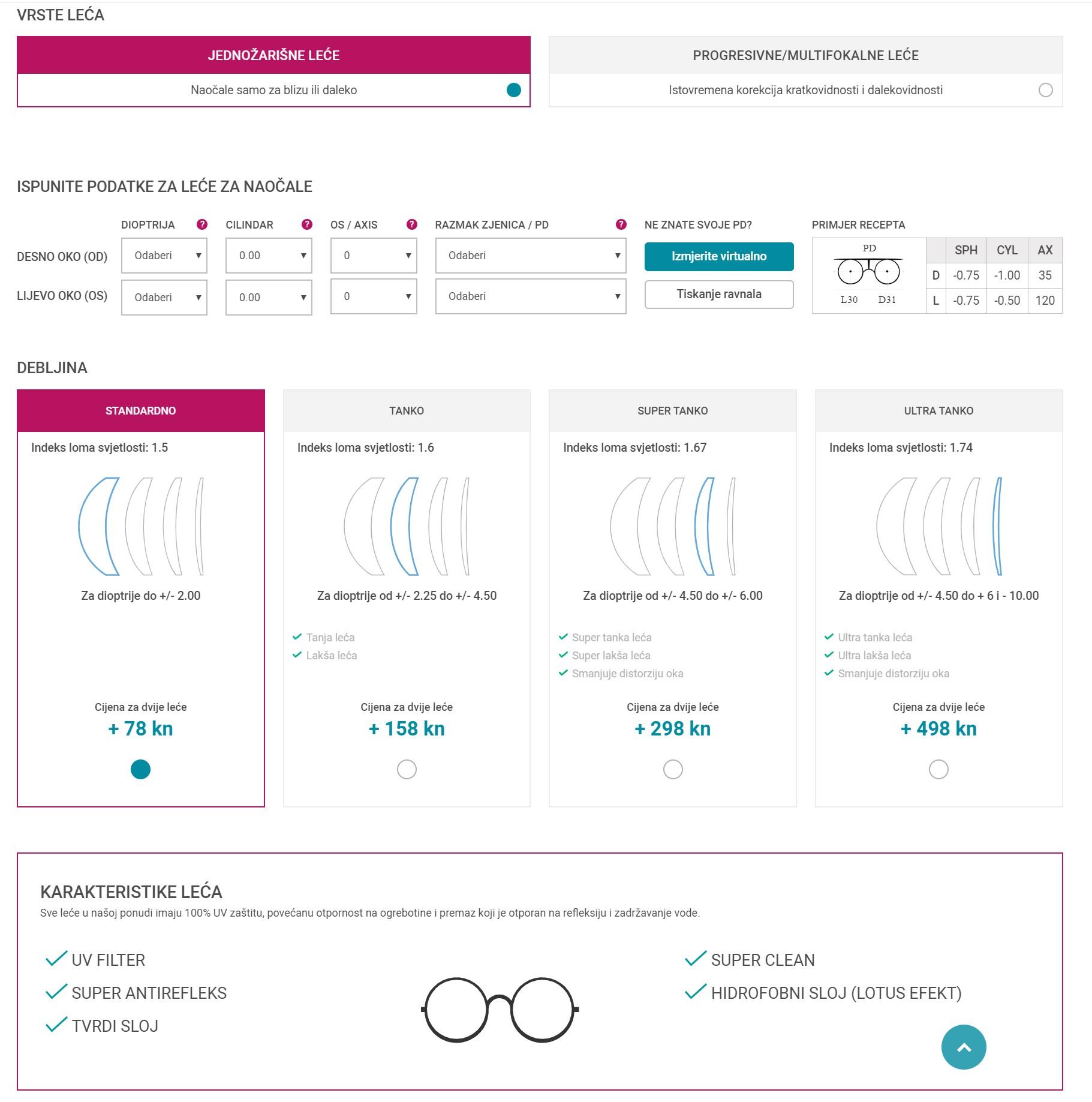 adrialece.hr - leće za naočale crulle